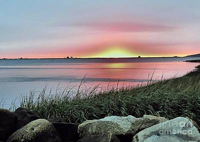 Photograph - Sunrise Over The Bay by Janice Drew