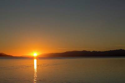 Beagle Photograph - Sunrise Over The Beagle Channel by Ashley Cooper