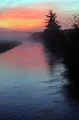 Photograph - Sunrise Over The Canal by Tikvah's Hope