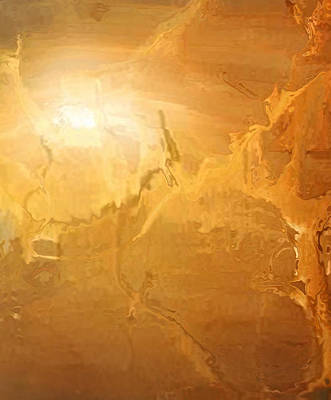 Graphics Painting - Sunrise Over The Dunes by Kume Bryant