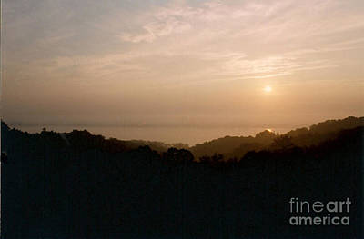 Sunrise Over The Illinois River Valley Art Print