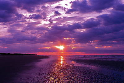 Photograph - Sunrise Over The Isle Of Palms by Jean Wright