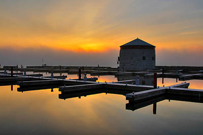 Photograph - Sunrise Over The Martelo Tower by Jim Vance