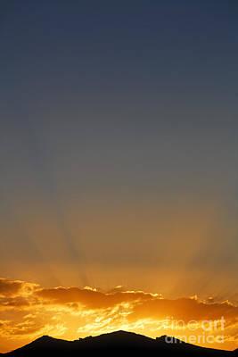 Kyrgyzstan Photograph - Sunrise Over The Mountains In Kyrgyzstan by Robert Preston