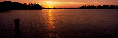 Bermuda Photograph - Sunrise Over The Sea, Bermuda by Panoramic Images