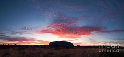 Ayers Rock Photograph - Sunrise Over Uluru by Matteo Colombo