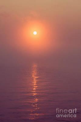 Photograph - Sunrise Over Yellowstone Lake by Bryan Mullennix