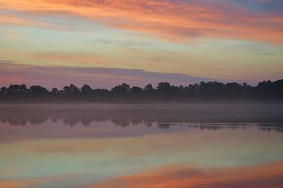 Photograph - Sunrise Paddle by William Bartholomew