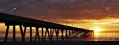 Photograph - Sunrise Panorama by Bob Sample
