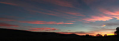 Photograph - Sunrise Panorama by Jahred Allen