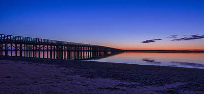 Photograph - Sunrise Pier by Donna Doherty