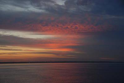 Beechworth Photograph - Sunrise Port Phillip Bay by Glen Johnson