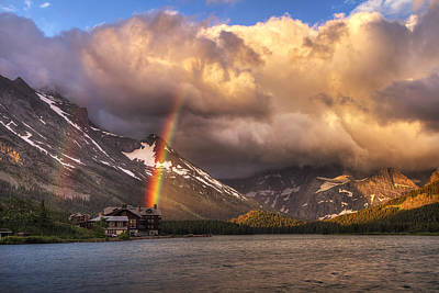 Photograph - Sunrise Rainbow by Mark Kiver