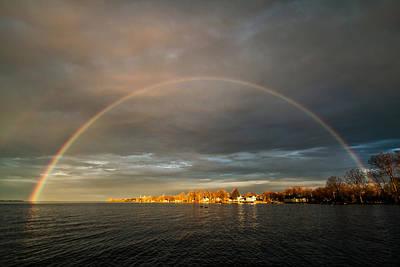 Photograph - Sunrise Rainbow by Matt Molloy