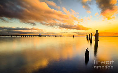 Photograph - Sunrise Reflections by Silken Photography