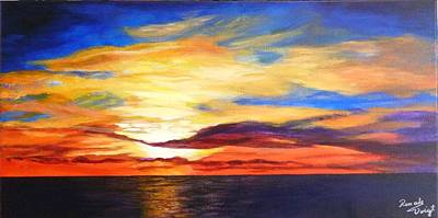 Painting - Sunrise by Renate Voigt