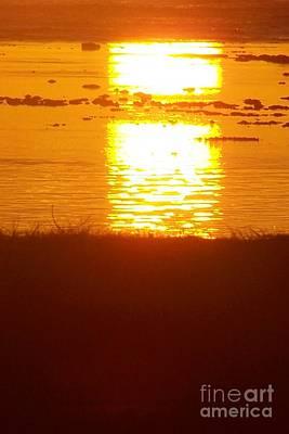Photograph - Sunrise - Reunion Island - Indian Ocean by Francoise Leandre