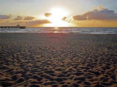 Photograph - Sunrise Sand by MTBobbins Photography