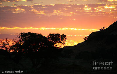 Photograph - Sunrise Scenery by Susan Herber