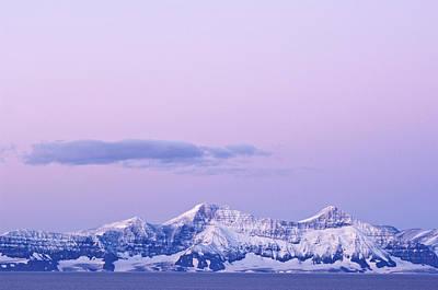Amazement Photograph - Sunrise, Scoresby Sound, East Coast by Daisy Gilardini