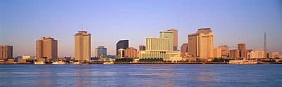 Orleans Photograph - Sunrise, Skyline, New Orleans by Panoramic Images