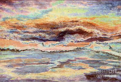 Photograph - Sunrise Song by Meghan at FireBonnet Art