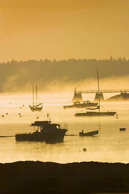 Photograph - Sunrise - Southwest Harbor - Mount Desert Island - Maine by Keith Webber Jr