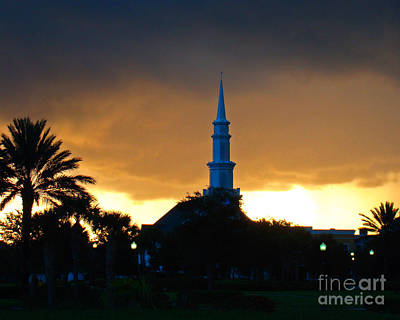Zen - Sunrise Storm by Nancy L Marshall