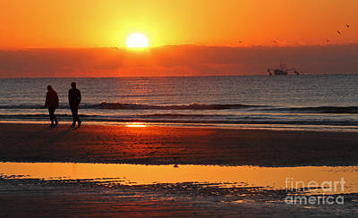 Photograph - Sunrise Stroll by Kevin McCarthy