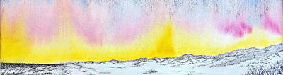Amagansett Painting - Sunrise-sunset by Daniel Dubinsky