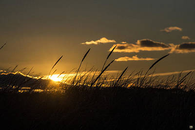 Photograph - Sunrise Through The Dunes by John Meader