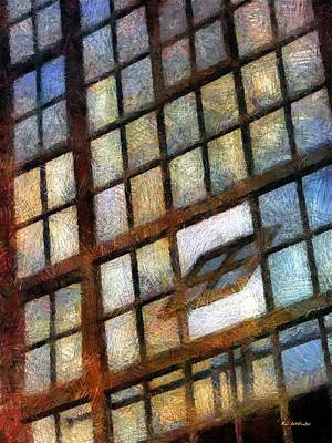 Asbury Park Painting - Sunrise Tilt by RC deWinter