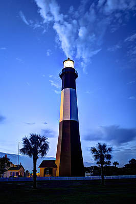 Photograph - Sunrise Tybee Island Lighthouse by Reid Callaway