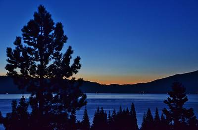 Photograph - Sunrise West Lake Tahoe by Marilyn MacCrakin