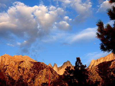 Sunrise Whitney Portal Art Print