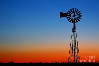 Sunrise Windmill Original