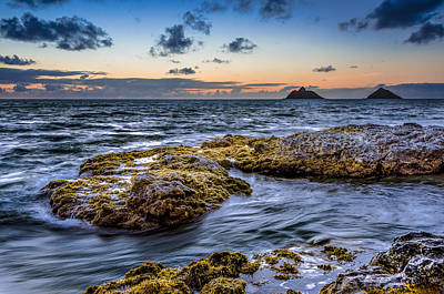 Photograph - Sunrise With The Mokulua Also Know As Mokes Island by Tin Lung Chao