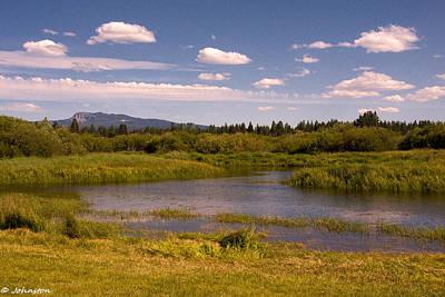 Photograph - Sunriver Oregon Thousand Trails Preserve by Bob and Nadine Johnston