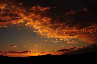 Art Print featuring the photograph Sunset 0983 by Janis Knight