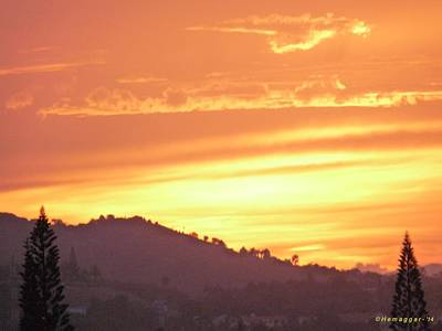 Photograph - Sunset-1-in D.r. by Hemu Aggarwal