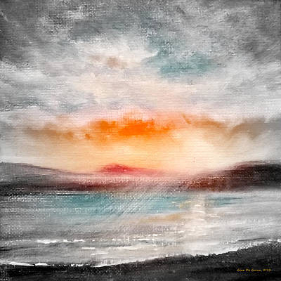 Painting - Sunset 111 by Gina De Gorna