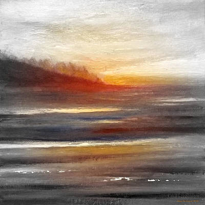 Painting - Sunset 133 by Gina De Gorna