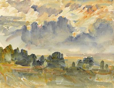 Sunset, 1915 Art Print by Philip Wilson Steer