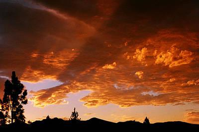 Photograph - Bitterroot Sunset by Jim Cotton
