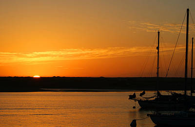 Photograph - Sunset 2 Morro Bay California by Ernie Echols