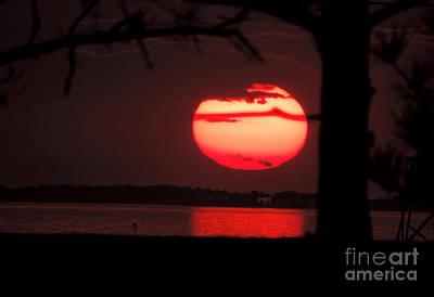Sunset 3 Art Print by Stephanie Kendall