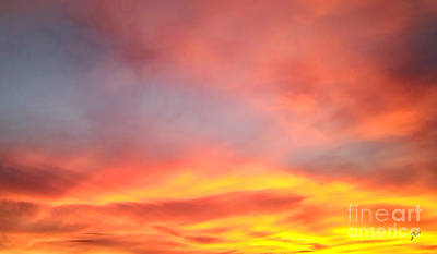 Photograph - Sunset 4 by Ze  Di