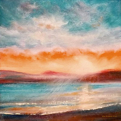 Painting - Sunset 44 by Gina De Gorna