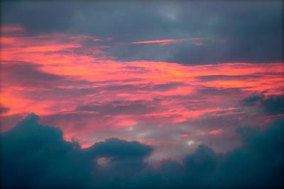 Photograph - Sunset Above The Clouds by Lehua Pekelo-Stearns