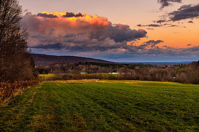 Photograph - Sunset After The Storm by Chris Bordeleau